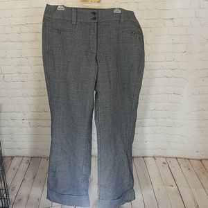 ☆☆Gray cuffed trousers